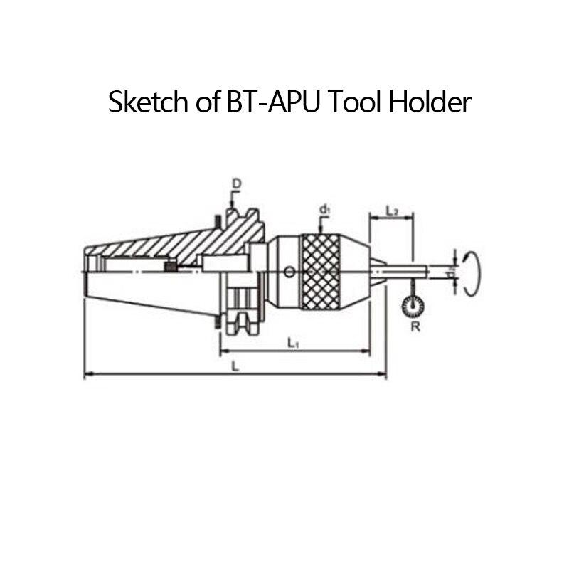 drill chuck diagram. 1 pcs bt30 apu13 100 drill chuck tool holder china manufacturer bt apu holder-in from home improvement on aliexpress.com diagram