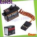 4set/lot Emax ES9251 2.5g Digital Servo RC servo 0.27kgf.cm For RC Helicopter Airplane Part (es08ma es08md es08a all in stock)