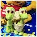 Candice guo divertido muñeco de peluche de juguete de peluche de La Buena Dinosaurio Arlo en huevo mini lindo niños modelo de regalo de cumpleaños de navidad presente