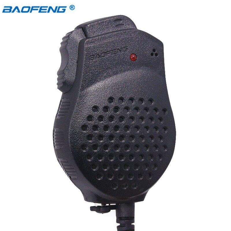 Original Baofeng UV-82 2 Dual PTT Lautsprecher Mic Mikrofon Für Baofeng UV-82 UV-82Plus GT-5TP Tragbare Radio Walkie Talkie BF-UV82