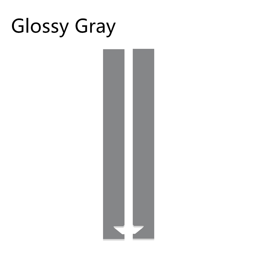 Авто полосы капот наклейки для автомобиля Стайлинг для MINI Cooper S One JCW R55 R56 R60 R61 F54 F55 F56 F60 земляк аксессуары - Название цвета: Gray