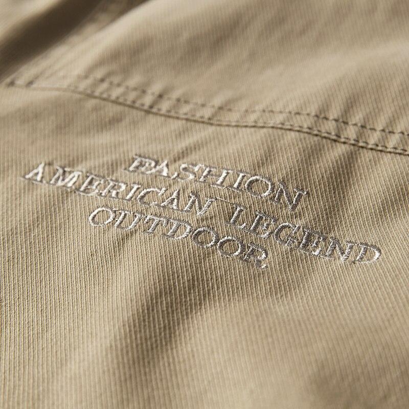 Куртка мужская модная джинсовая куртка тонкая секция плюс размер однобортная мужская верхняя одежда повседневная с отложным воротником му... - 5