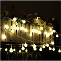 Bright 10M 100 LED Cherry Balls String Lights Holiday Wedding Christmas Outdoor Garland Home Decoration Night lamp Fairy Lights