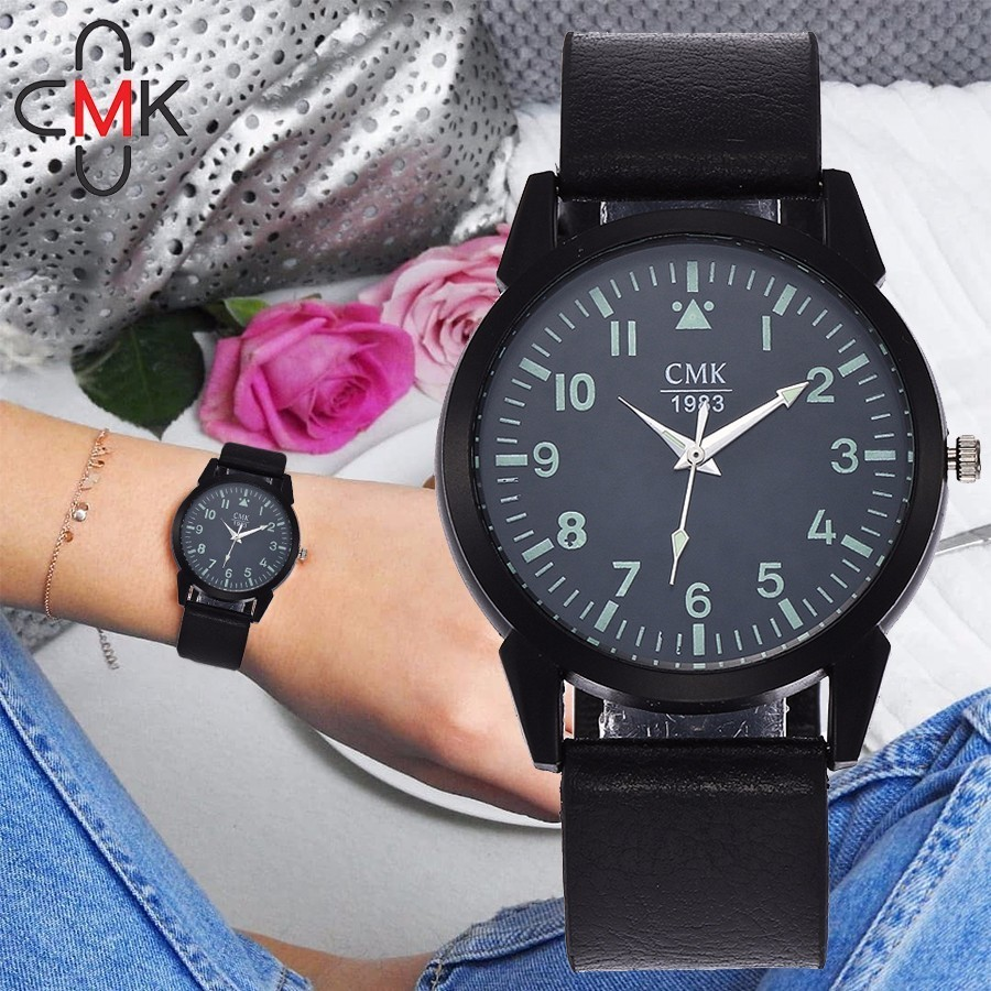 CMK Women Watch 2018 New Elegant Dress Watch Fashion Casual Leather Strap Quartz Wrist Watches Montre Femme Reloj Mujer купить