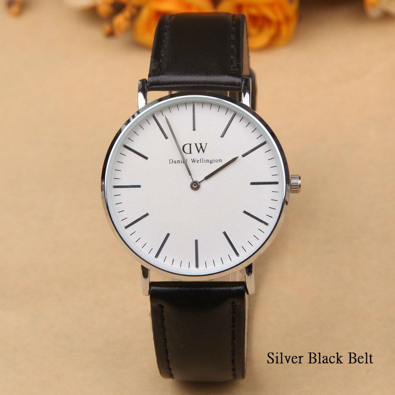 6b9e142c2ecc New brand DW watch men and women with quartz watch men 40mm packet mail  Belt Watch-in Quartz Watches from Watches on Aliexpress.com
