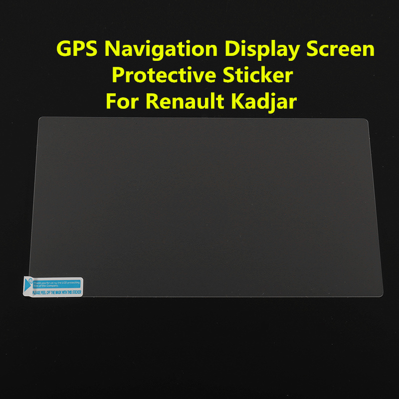 7inch Car GPS Navigation Glass LCD Display Screen Tempered Glass Steel Pad Film Sticker Cover Protective For Renault Kadjar