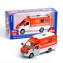 Siku 1:50 Diecast Toy Car Model Ambulance Van