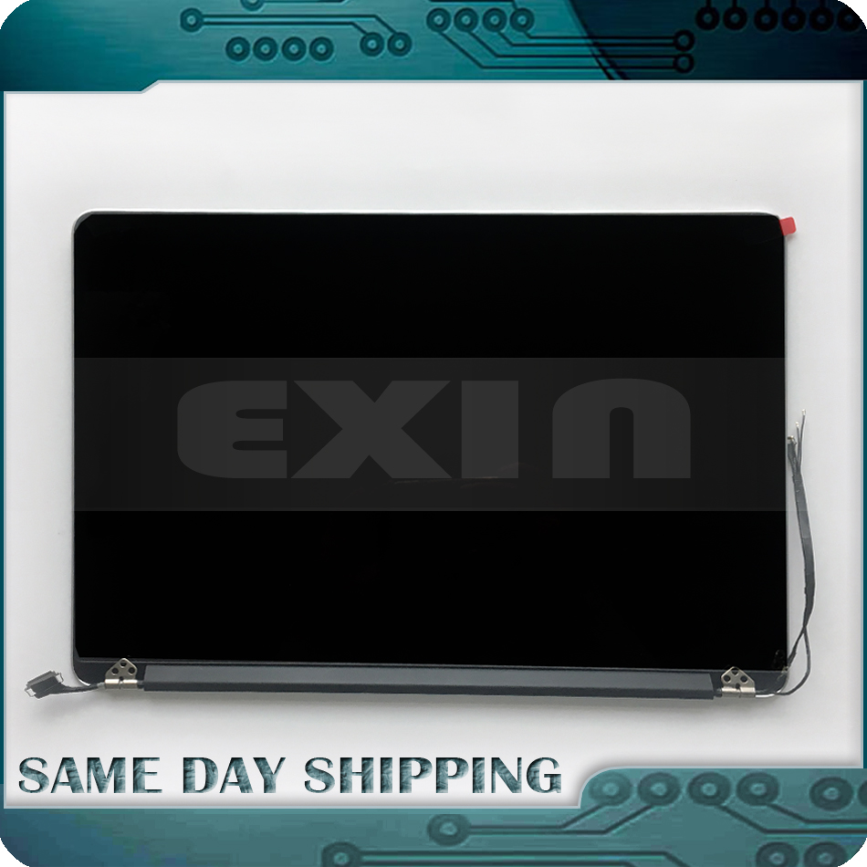 Véritable 2013 2014 Année pour MacBook Pro Retina 15 A1398 Assemblage D'écran LCD Affichage Complet Avec Couvercle En Aluminium Complet 661-8310