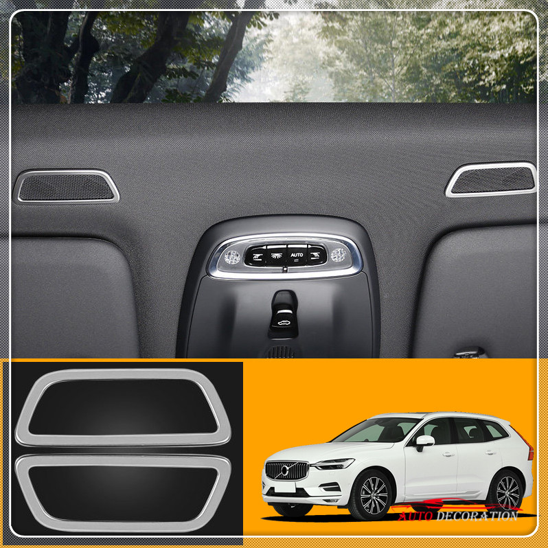 For Volvo XC60 2018 / XC90 2015 2018 / S90, V90, 2017 2019 Accessories Car Styling Matte