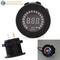 12V Universal LED Display Digital Car Voltmeter Socket Volt Voltage Meter Gauge Tester For Auto Motorcycle