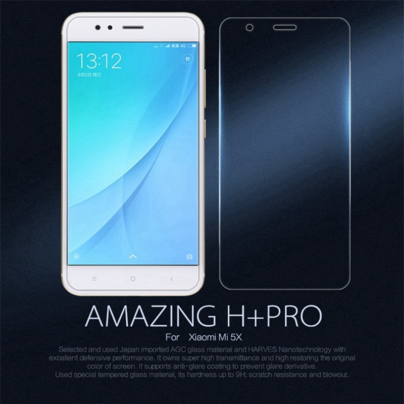 Nillkin Amazing H+Pro 0.2mm Ultra thin Tempered Glass For Xiaomi Mi 5X A1 Screen Protector Xiomi Mi5X MiA1 Dual Sim Glass Film