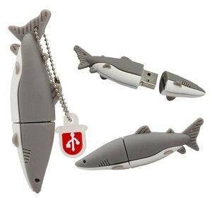 Image 5 - ペンドライブの漫画の動物サメ魚の Usb フラッシュドライブ 4 ギガバイト 8 ギガバイト 16 ギガバイト 32 ギガバイト 64 ギガバイト 128 ギガバイトイルカ USB フラッシュメモリスティックディスクペンドライブ