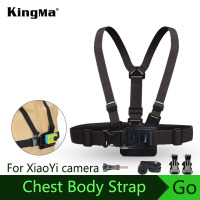 KingMa HOT Selling Accessories For XiaoYi Sports Camera Harness Adjustable Elastic Camera Belt Body Chest Strap