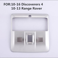 1pcs ABS car stickers front reading lamp decorative frame for 10 16 Discoverers 4 10 13 Range Rover ABS sticker Auto Accessories