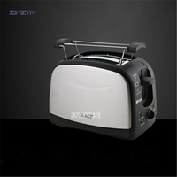WST 998 Household Automatic Bread Toaster Baking Bread Maker Machine 2 Slices Slots Stainless steel Multifunctional 220V/50hz