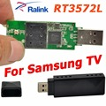 Ralink rt3572 802.11a/g/b/n 600 mbps adaptador wifi usb wifi adaptador sin hilos del dongle + 2x antena pcb para samsung tv windows 7/8/10
