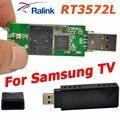 Ralink rt3572 802.11a/g/b/n 600 mbps usb adaptador sem fio wi-fi adaptador wi-fi dongle + 2x pcb antena para samsung tv windows 7/8/10