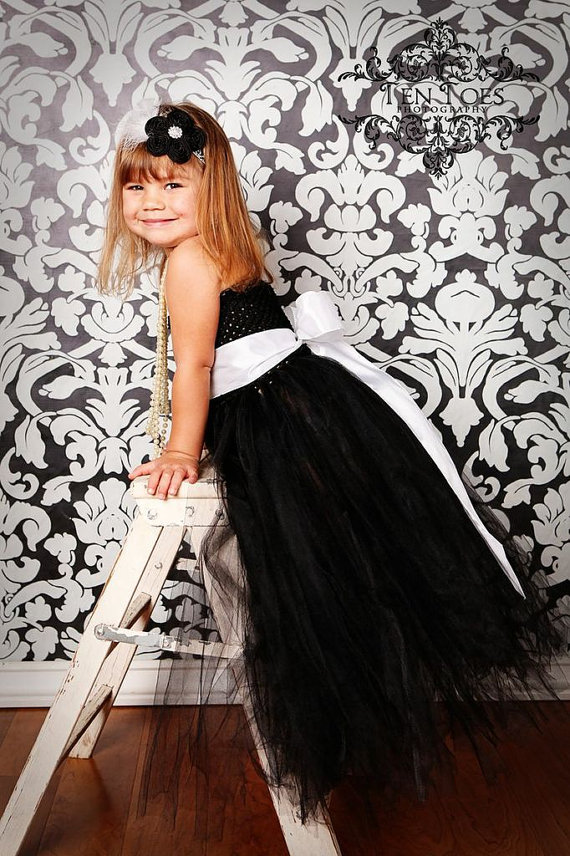 black baby bridesmaid flower girl wedding dress tulle fluffy ball gown birthday costume cloth Cinderella tutu party dresses silver gray purple pink blue ball gown tutu soft tulle puffy flower girl dress baby 1 year birthday dress with spaghetti straps