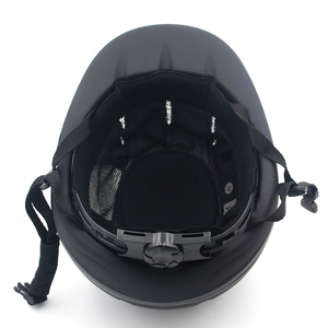 Image 4 - 전문 승마 헬멧 조정 가능한 크기 반 얼굴 커버 Questrian 라이더를위한 보호 헤드 기어 보안 장비
