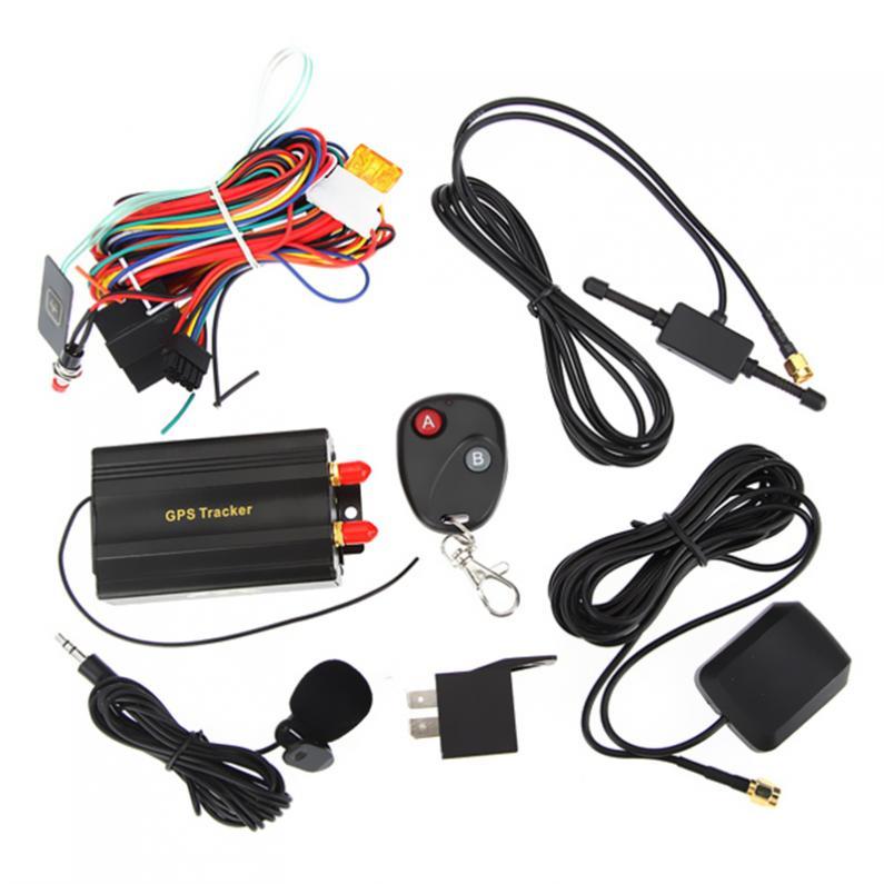 Traqueur de voiture GPS GSM/GPRS dispositif de suivi à distance Auto véhicule moto gps localisateur