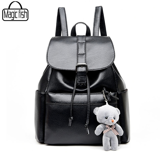 69a7b271ff Leisure Good Quality Women Backpacks Famous Brands Fashion Lady Leather Backpack  School Backpacks For Teenage Girls A1597 l