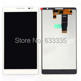 ФОТО White or BLack LCD Display Panel Screen + Digitizer Touch Screen Glass For Huawei mate1 MT1-T00 MT-U06  Free Shipping