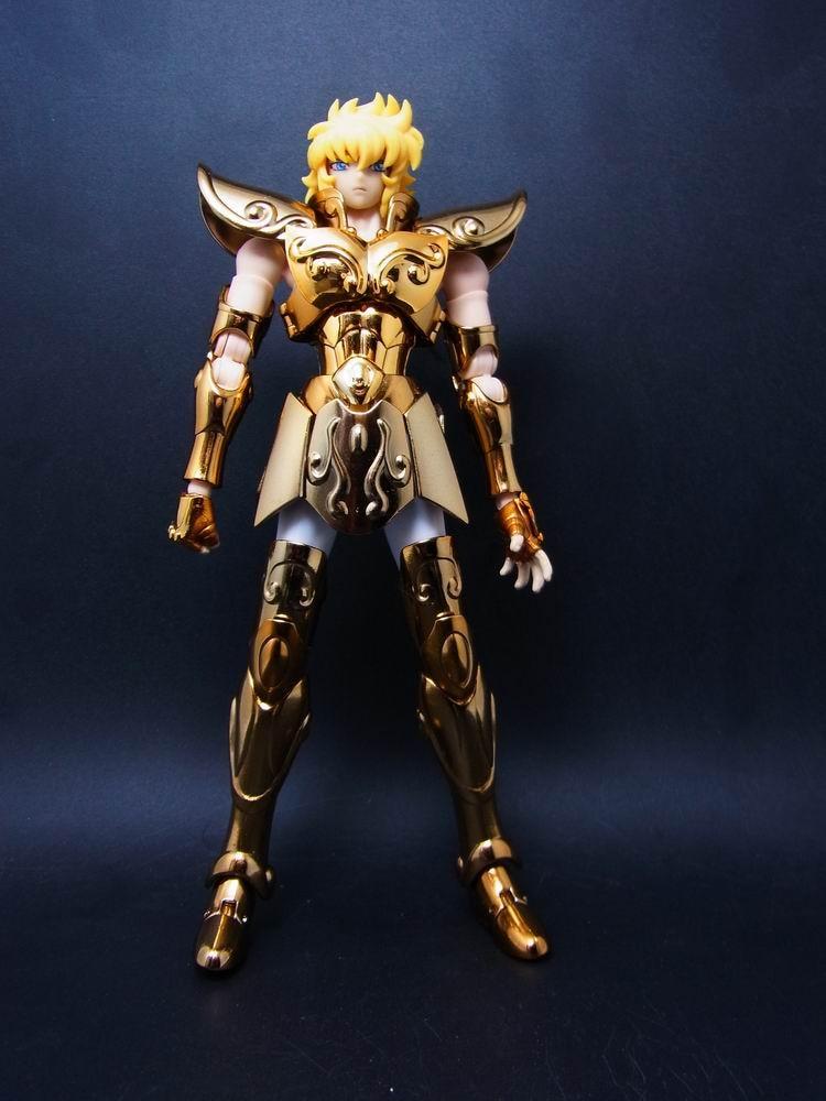 MC Metal Club Saint Seiya Cloth Myth EX Gold Leo Aiolia Model Metal Cloth OCE SM021*