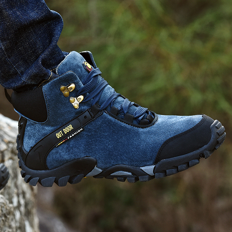 Genuine Leather Men Boot Fashion Man Winter Snow Boots with fur keep Warm Boots Plush Ankle Snow outdoor Shoes Men's Snow Boots new casual mens cheap winter shoes keep warm with fur outdoor male snow shoes plush boots fashion men s suede leather sneakers