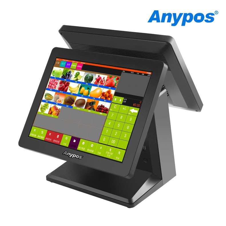 15 Inch Touch Screen Android Tablet PC Cash Register POS System with Software vel vel 03 01 01 02202