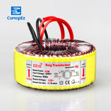 80W Pure Copper Toroidal Power Transformer 220V to 12V Single Phase Isolated AC Ring Transformer  For Power Supply Amplifier 2 15v 1 2a 2 18v 0 6a r core transformer 60va r50 custom transformer 220v copper shield output for power amplifier