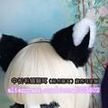 Anime lolita maid cosplay Mullidas orejas de gato orejas de Zorro Gato de la madre colores surtidos orejas de Gato diadema