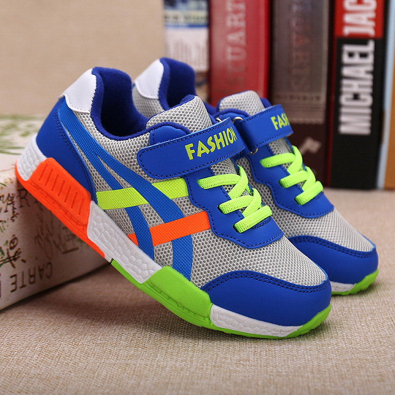 2019 Spring New Hollow Mesh Boy Sports Shoes In The Big Children's Campus Breathable Children's Shoes