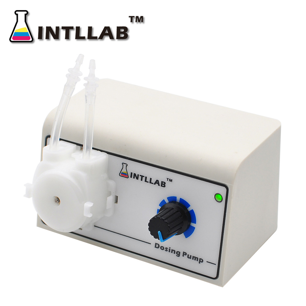 INTLLAB Peristaltic Liquid Pump Dosing Pump for Aquarium Lab Water Analytical-in Pumps from Home Improvement