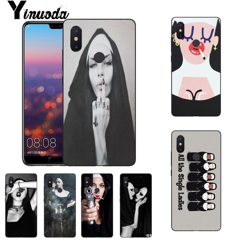 Clothing, Shoes & Accessories Yinuoda Melanin Poppin Black Gir Painted Phone Case For Xiaomi Mi 6 Mix2 Mix2s Note3 8 8se Redmi 5 5plus Note4 4x Note5