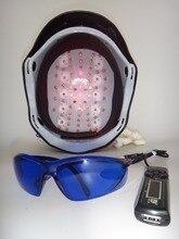 68 medical diodes prevent baldness treatment laser diode helmet with glasses+timer