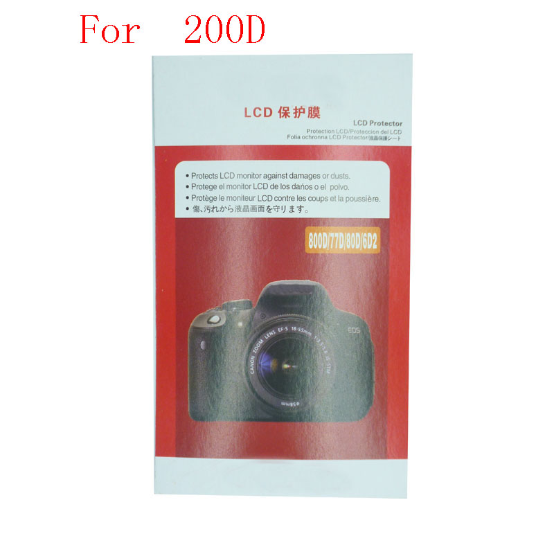 Para Canon 5D2 20 pedaço Macio 5D3