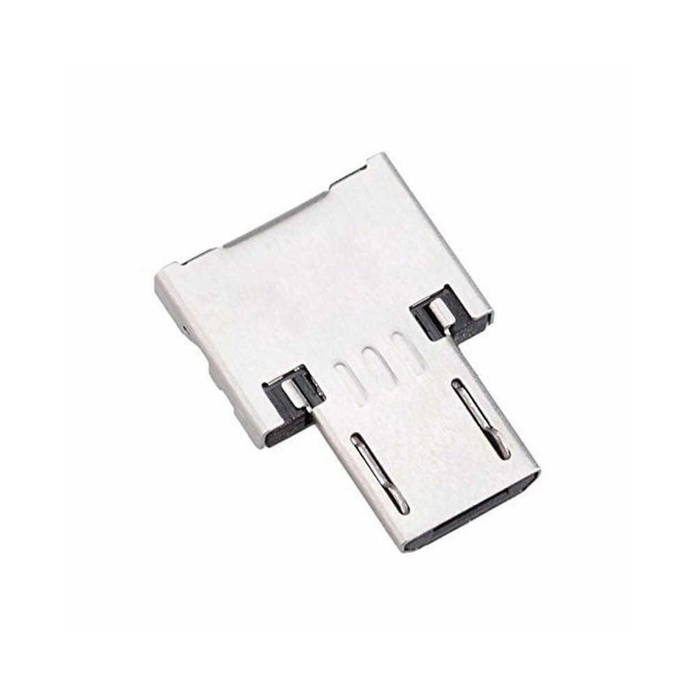 100 Pcs Hsmeilleur Micro USB OTG Adaptor untuk Flash Drive Ponsel Android Tablet Samsung Galaxy S7 S6 Edge Adaptor Kabel aksesoris