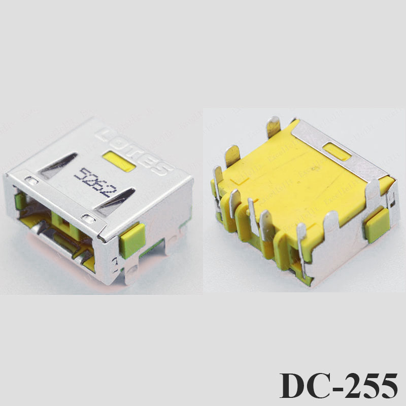 Image 4 - ChengHaoRan 1X DC Power Jack Connector for LENOVO G400 G490 G500 G505 Z501 DC JACK 5pin OGA 13 X1 Carbon yellow Square PORT-in Computer Cables & Connectors from Computer & Office