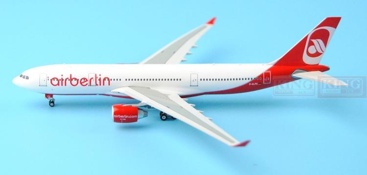 Phoenix 11143 Berlin Airlines D-ALPE 1:400 A330-200 commercial jetliners plane model hobby цены онлайн