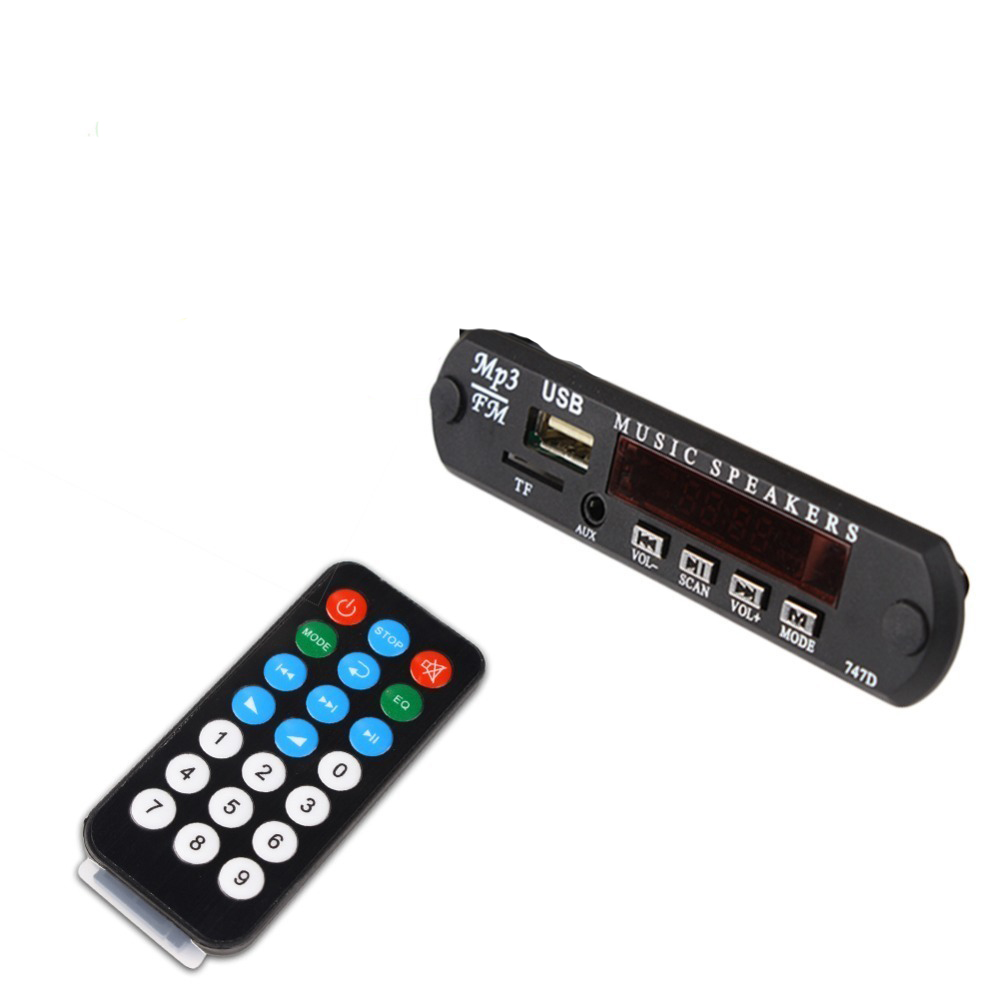 New MP3 Decoder Board Hitam Remote SD MP3 Player Ztv-m011 Remote Control Module FM Usb 2.0 3.5 mm keluar jack car usb mp3 player integrated bluetooth hands free mp3 decoder board module ztv m01bt remote control usb fm aux radio for car