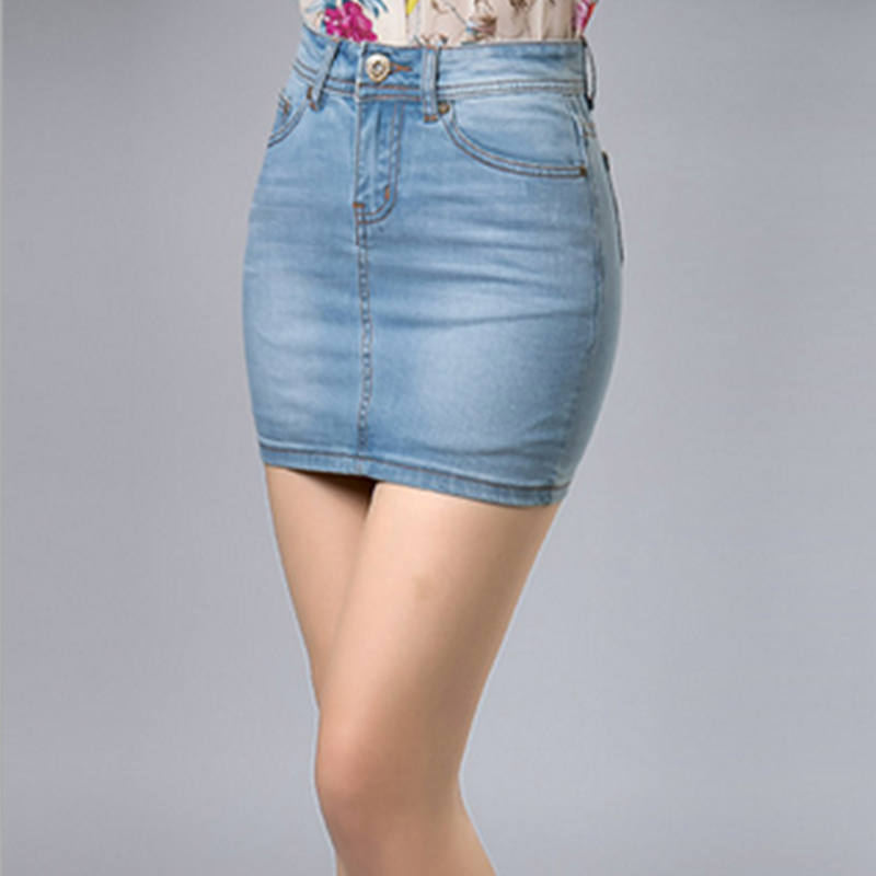 Online Buy Wholesale blue jean skirts sale from China blue jean ...