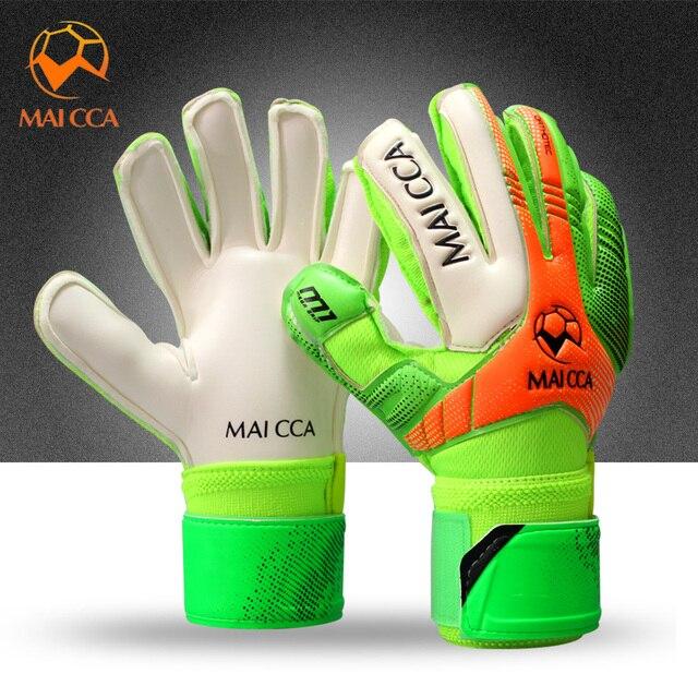 Boy Soccer Goalkeeper For Kids Football Latex Goalie Gloves Children Size 5  6 7 7e1ac7f0906c