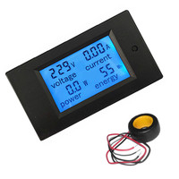 100A AC80 260V Digital LED Panel Meter Monitor Power Energy Voltmeter Ammeter