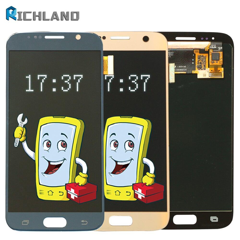 LCD pour SAMSUNG Galaxy S6 Affichage à L'écran Tactile Digitizer Assemblée Remplacement Pour G920 SM-G920F G920FD