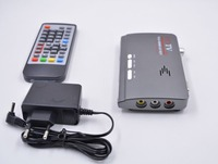 1080P HD DVB T2 DVB T AV to VGA TV Box HDMI VGA AV USB MPEG4 DVB T2 Receiver For all CRT LCD monitors,turn computer to a TV set