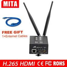 H8 H.265 batterie Au Lithium 4G 3G WIFI HDMI codeur pour HTTP RTMP RTSP iptv en streaming