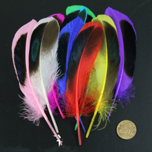 50pcs/set diy feathers Wild duck hair wedding dress Jewelry accessories craft decoration materials about AC068