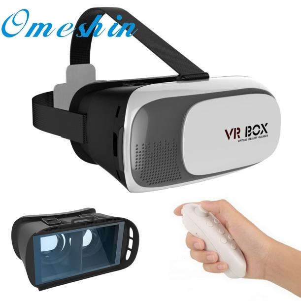 For Google Cardboard VR BOX Virtual Reality 3D Glasses For Samsung Controller Film LJJ0120