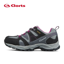 Women Hiking Boots Clorts Leather Breathable Outdoor Hiking Shoes Suede Rubber Waterproof Athletic Sneakers