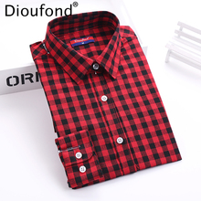 Shirts Blouses Plaid Blouse